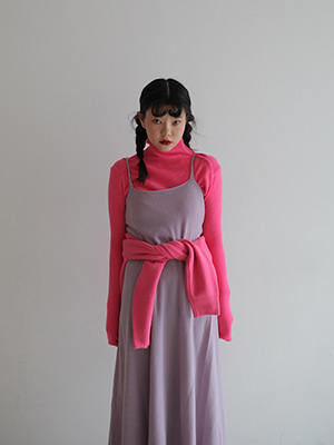 soft touch pink knit