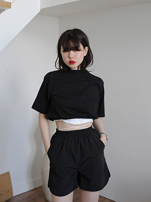 band crop tee(2colours!)